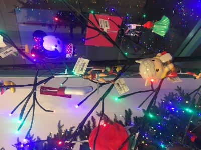Christmas ornaments and lot of great decor!